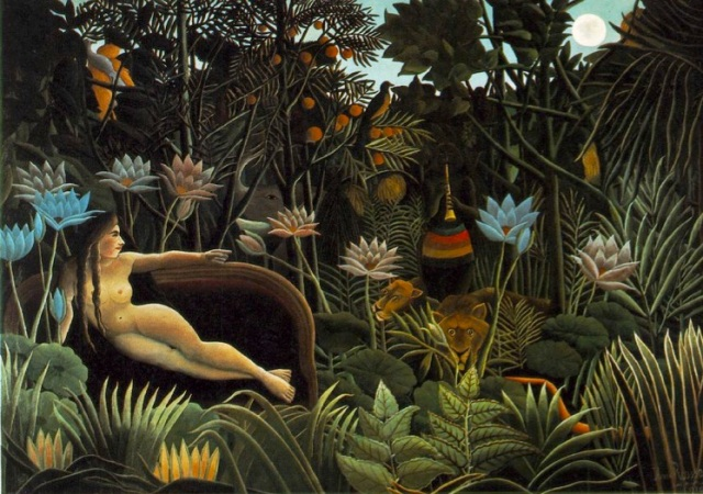 Le rêve by Henri Rousseau