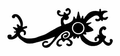 Iban (Sarawak) scorpion design
