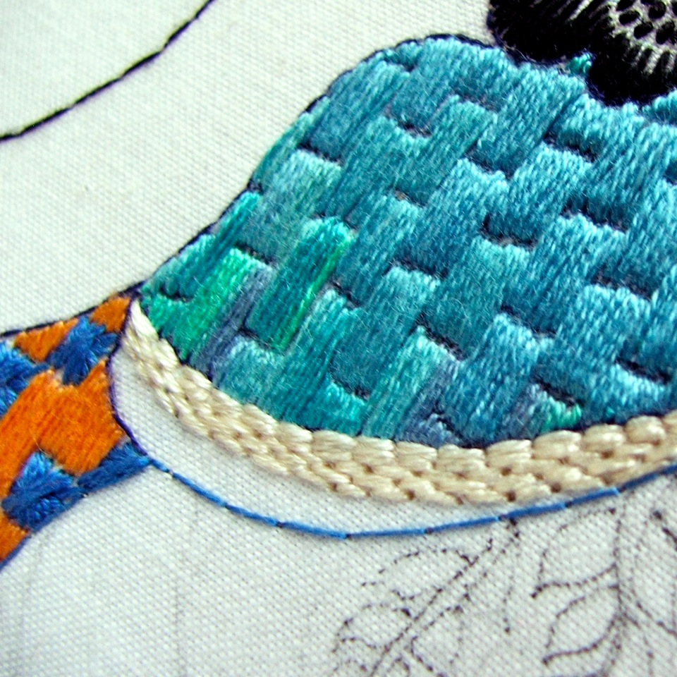 Hand Embroidery   The Smallest Forest