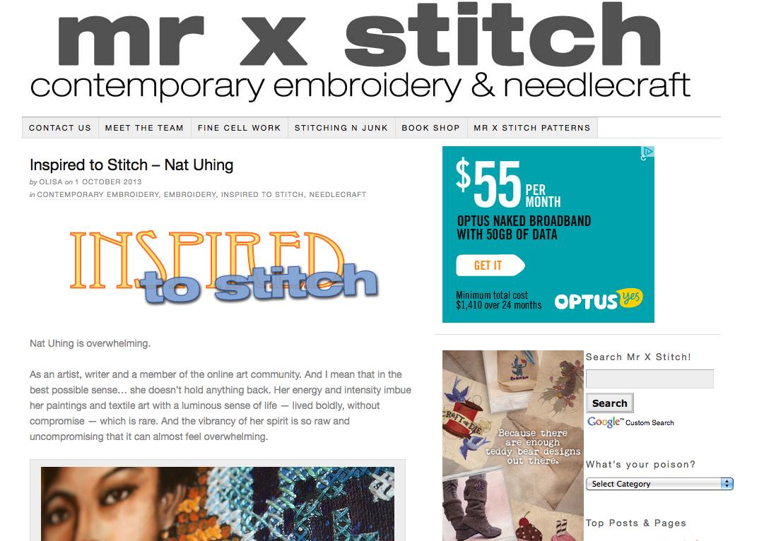 Mr X Stitch screenshot