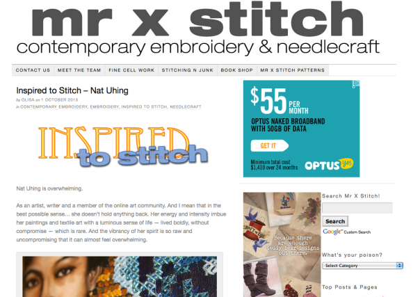Mr X Stitch screenshot
