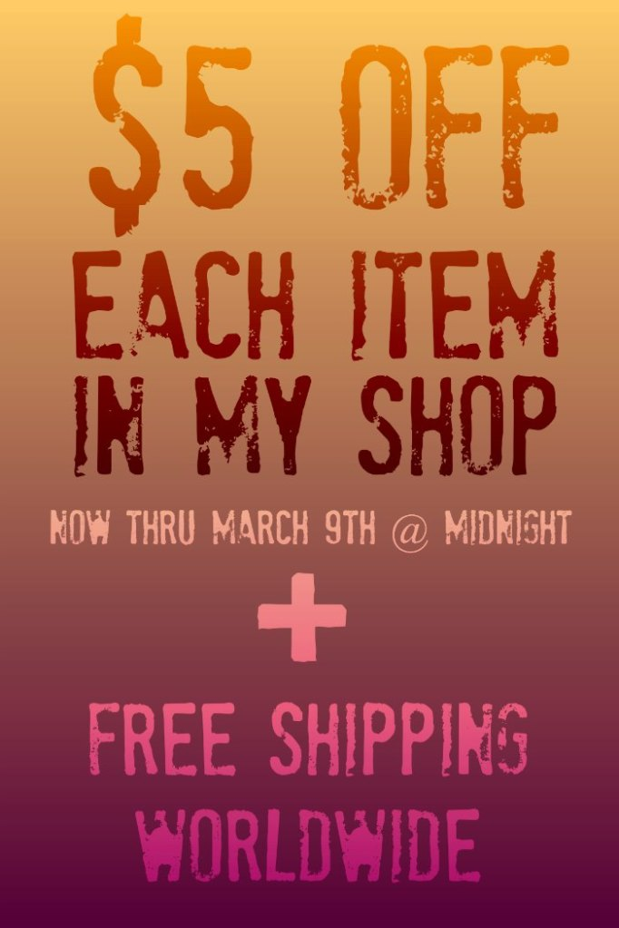 $5 OFF + FREE SHIPPING ON SOCIETY6