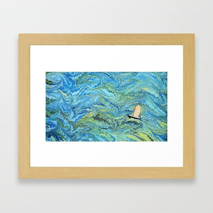 junk-on-the-high-seas-qnj-framed-prints